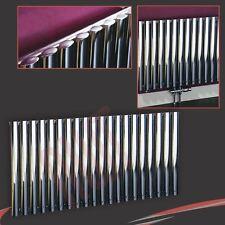 "1 200 mm (w) x 600 mm (h) ""alpha"" Chrome Designer radiateur horizontal tube ovale"