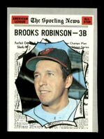 1970 Topps Set Break # 455 Brooks Robinson EX *OBGcards*