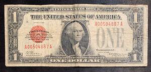 1928 $1 Red Seal Legal Tender Note
