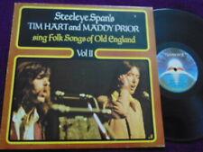 "TIM HART & MADDY PRIOR ""Folk Songs of Olde England "" Vol 2 LP Mooncrest CREST 26"