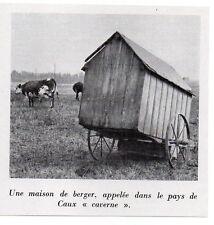 1955  --  UNE CAVERNE  MAISON DE BERGER DU PAYS DE CAUX   Y732