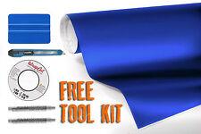 Matte vinyl vehicle wrap navy blue 45ft x 5ft with free car-wrap kit VVIVID8