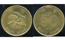 HONG KONG  50 cents 1997   ( bis )
