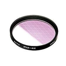 Hoya 82mm Star Six Special Effect Glass Filter (S-82STAR6-GB)