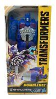 Transformers Bumblebee Movie Titan Changers Optimus Prime Action Figure NIB