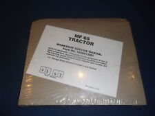 MASSEY FERGUSON MF 65 TRACTOR SERVICE SHOP REPAIR MANUAL BOOK