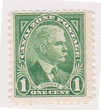 (CZ-22) 1928 Canal Zone 1c GEN GORGAS (J)