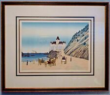 "Fanch Ledan ""SAN FRANCISCO CLIFF HOUSE "" A/P   RARE PIECE SIGNED"