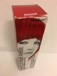 Stargazer Semi Permanent Hair Dye Cream Colour Rinse Tint Toner ROUGE.