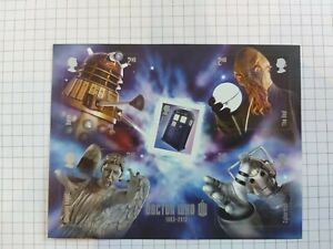 Doctor Who Royal mail stamps .Hinged mint