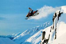 Poster SNOWMOBILE - Jumping  ca90x60cm  NEU 56571