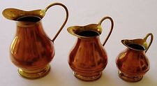 Antique Copper Brass Pitchers