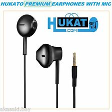 Hukato Premium Earphone Handsfree Headset Mic For Lava Magnum X604 Iris X1 Beats