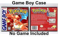 Pokemon Red Version - Game Boy GB Case - *NO GAME*