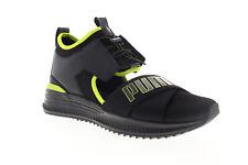 Puma Fenty Avid 36768201 Mens Black Mesh Lace Up Low Top Sneakers Shoes