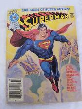 Vintage Superman Comic Book