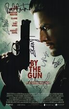 By The Gun x7 Signed Ben Barnes Leighton Meester Harvey Keitel Toby Jones Slaine