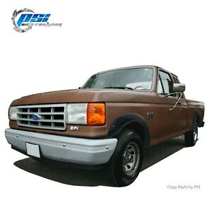 Textured Pocket Fender Flares Fits Ford F-150 F-250 F-350 Bronco 1987-1991