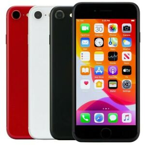 Apple iPhone SE 2nd Gen 64GB Black Red White TracFone Locked Very Good Condition