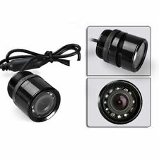 CMOS Car Rear View Reverse Backup Parking Universal Camera IR Night Vision 9LED