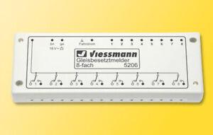 Viessmann 5206 Détecteur de Présence de Piste, 8-fach