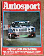 Autosport 31/3/77* MONZA TOURING CARS - DEVELOPMENT of RALT - BARRY HINCHCLIFFE