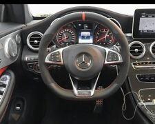 Mercedes-Benz OEM W205 AMG Performance Leather Alcantara Steering Wheel C-Class