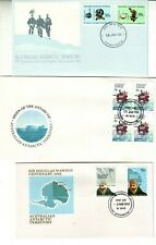 OLD CONTINENT of ANTARCTICA     3   FIRST DAY COVERS