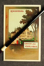 Künstlerkarte - Karlsbad Kaiserbad nach V.Havlicek / Verlag Brünn  / AK 25