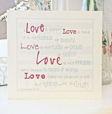 Bible Verse/Christian Card  - Love is Patient, Love is Kind...