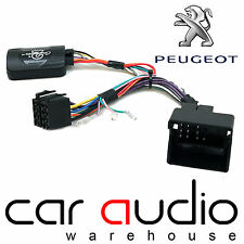 Peugeot 607 2004 On CLARION Car Stereo Radio Steering Wheel Interface Stalk