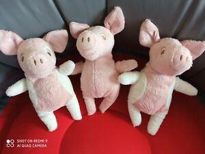 3 x Kuscheltier / Stofftier Schwein / Ferkel Kelgris von Ikea