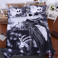 The Nightmare Before Christmas Jack Skellington Duvet/Quilt Cover Bedding Queen