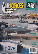 Air Forces Monthly (Jul 1991) (Paris Airshow, A-4 Skyhawk Profile, Taiwan AF)