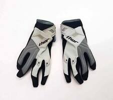 DISCOUNTED GREY & BLACK MEDIUM THOR YOUTH PHASE GLOVES OFFROAD ATV KIDS BOY GIRL