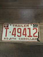 1984 north carolina license plate [ trailer ]
