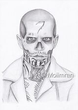 El Diablo from Suicide Squad Pencil Drawing - Graphite Sketch - Artwork By M.I