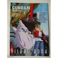 Gundam X Visual Art Book Rare Anime From japan
