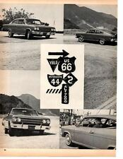 1965 AMC MARLIN 327/270-HP  ~  ORIGINAL 5-PAGE ARTICLE / AD