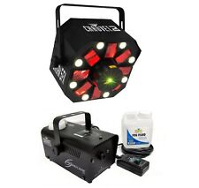 Chauvet DJ Swarm 5 FX LED Derby Laser Light Effect + Hurricane H700 Fog Machine