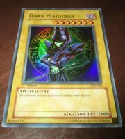 Yugioh Dark Magician SYE 001 1st Edition Super Rare Holographic Card