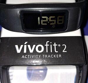 Garmin Vivofit 2 Fitness Activity Calories Tracker Water Resistant + HEART RATE