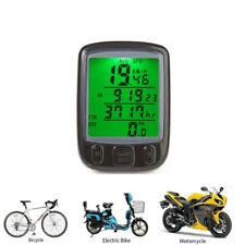 Bike LCD Computer Odometer Speed Speedometer Bicycle Cycling Waterproof Meter