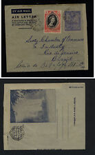 British  Guiana uprated air letter sheet to US  1953    KL1213