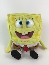 "Spongebob Squarepants Talking Babbling 12"" Plush Stuffed Toy Tested w Batteries"