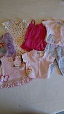 Size 0-3 M Girls Outfits Lot of 6