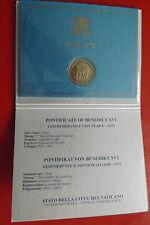 * vaticano 2 euros conmemorativa 2012 * mundo reunión familiar