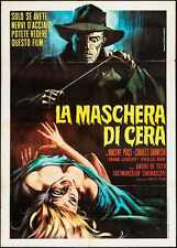 HOUSE OF WAX Italian 2F movie poster 39x55 R70 VINCENT PRICE CHARLES BRONSON