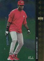 Deion Sanders 1994 Upper Deck SP #162 Cincinnati Reds baseball Card