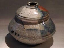 ANCIEN VASE EN GRÈS À DECO JAPONISANT signature sous la base à identifier ?
